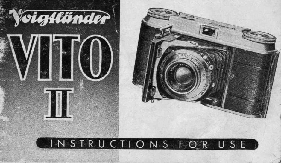 Vito II Manual Cover