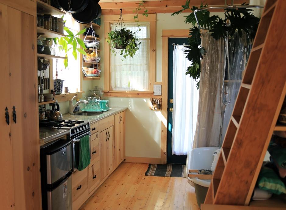 The Kitchen and Front Door