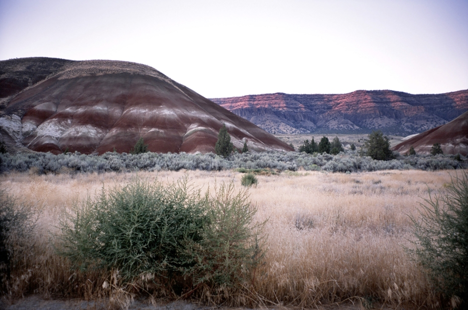 Painted Hills at Dusk
